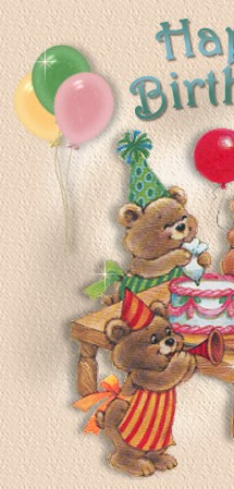 Kids Birthday Messages Image