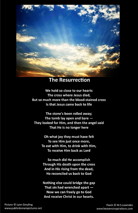 Christian Picture Poems,Special Occasion Poetry with Picture ...